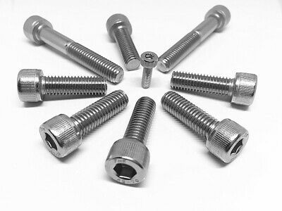 M3 M4 M5 M6 M8 Socket Head Cap Screw Stainless Steel 304 Metric Coarse
