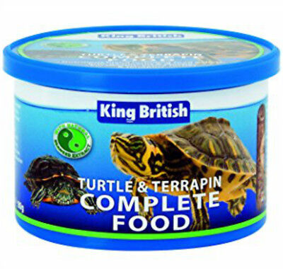KING BRITISH TURTLE & TERRAPIN COMPLETE FOOD FOR TURTLES , balanced diet