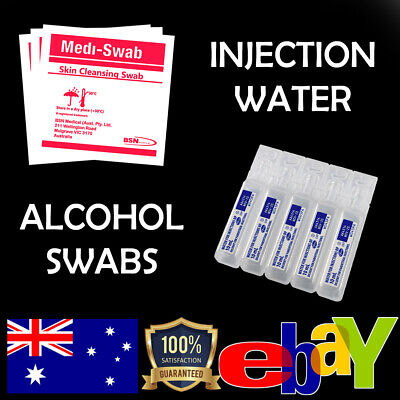 200 x Alcohol Wipes Medi Swabs Sterile Medical 70% Isopropyl Skin Swab Prep Pads