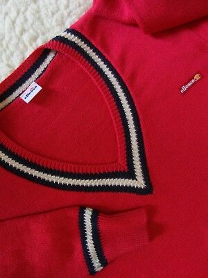 SWEATER vintage 70's ELLESSE tg.4 circa L made Italy