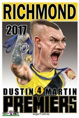 Dustin Martin Premiership, Brownlow, Norm Smith Weg Art  Poster FREE DELIVERY