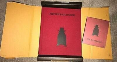 Mr. Babadook-Ltd 'pop-Up' Book & Bluray, Author Signed & Numbered, New/rare/oop!