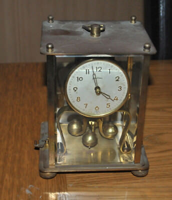 Bentima Anniversary Clock Vintage 400 day carriage spares and repairs