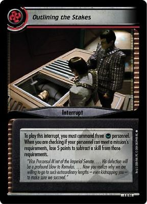 Star Trek CCG 2E Reflections 2.0 At What Cost FOIL 4R40