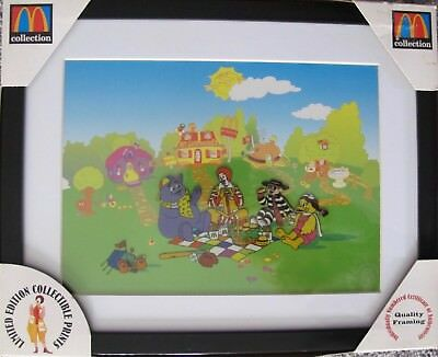 McDonald's 1998 RONALD'S PICNIC Sericel Animation Cel RARE COLLECTIBLE!