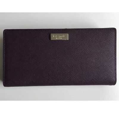 6dd0643e7724 NEW KATE SPADE Stacy Laurel Way leather wallet Radish -  60.00 ...