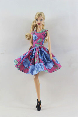 Lovely Fashion Dress/Clothes/Ballet Dress For Barbie Doll b04
