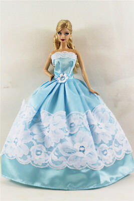 Fashion Princess Party Dress/Evening Clothes/Gown For Barbie Doll B06