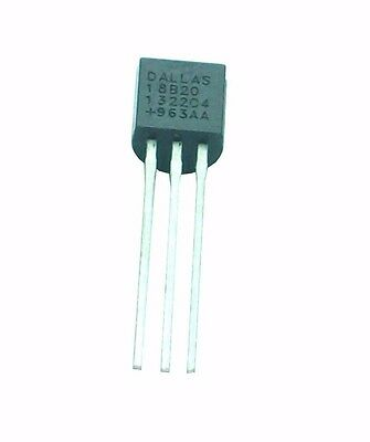 UK Stock DS18B20 18B20 1 Wire Temperature Sensor Thermometer Chip TO92 Digital