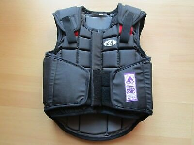Reitweste  USG schwarz Child Medium