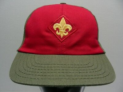 Boy Scouts - Youth Size Adjustable Snapback Ball Cap Hat!