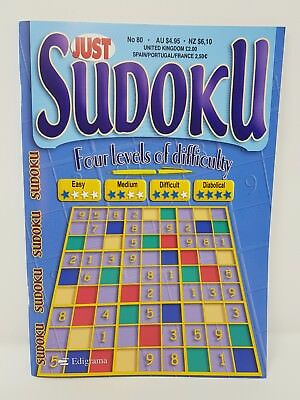 JUST Sudoku - [ Four Levels of Difficulty ] - [ Issue 80 ] -  Sudoku Puzzles