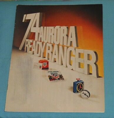 1974 AURORA READY RANGER dealers' CATALOG