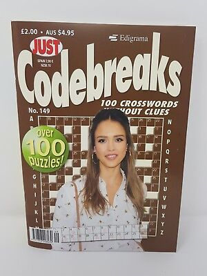 Just Codebreaks - [ Issue 149 ] -  Code Breaks Puzzle Book