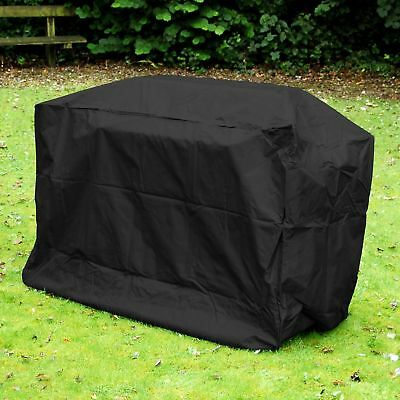 Black BBQ Cover Barbecue Grill Gas Covers Outdoor Indoor Protection 124x71x91cm