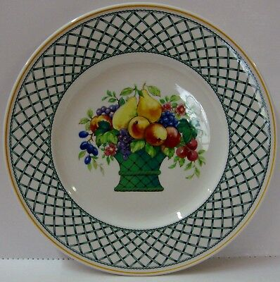 Villeroy Boch BASKET Dinner Plate CENTER DESIGN More Items Available BEST!