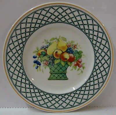 Villeroy Boch BASKET Salad Plate CENTER DESIGN More Items Available BEST!