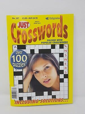 Just Crosswords - [ Issue 267 ] -  Cross word Puzzle Book