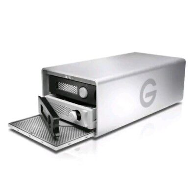 G-Technology G-RAID 0G04070 External Hard Drive - Silver 8TB