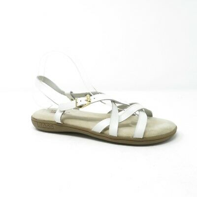 Bass Womens Margie Sunjuns Leather Cow Suede Sandals