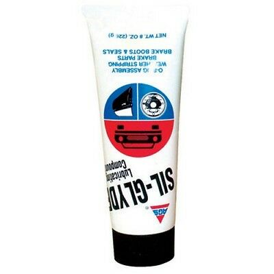 AGS Company SG-8 Sil Glyde Compound/Lubricant, 8 Ounce Tube, Case of 12