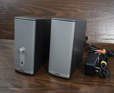 Bose Companion 2 Series II Multimedia Speaker System  I-15656 W/All Cords Tested