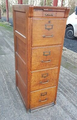 stunning antique oak french filling cabinet