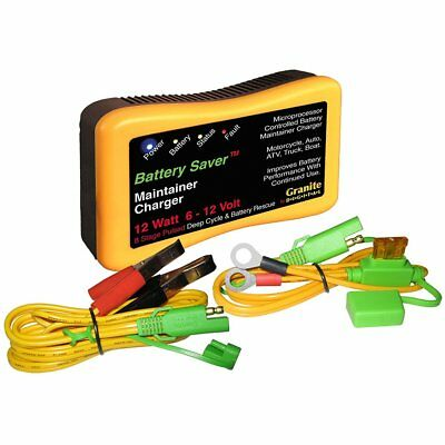 Save A Battery 1200 12W Pulse Battery Maintainer/Charger with Battery Rescue