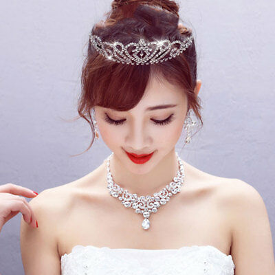Wedding Bridal Crystal Diamante Headband Bridesmaid Hair Tiara Crown NEW