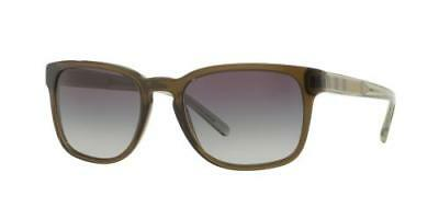8bfb26fe147e NEW AUTHENTIC BURBERRY B4222-F 3010 8G Olive Green Men s Sunglasses 55mm  ITALY