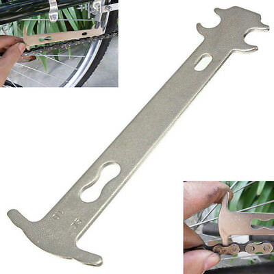 Bike Bicycle Chain Ruler Wear Indicator Tool Chain Checker Cycling Repair Tool