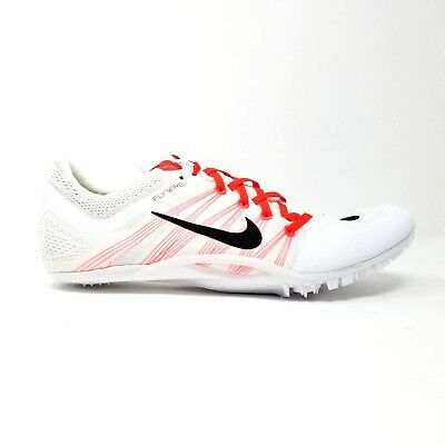 competitive price 6c20c 5d853 Nike Mens Zoom JA Fly 2 Track and Field Sprint Spikes White Red 705373-101