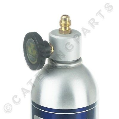 R600a BOTTLE ADAPTOR VALVE CAN TAP FOR DISPOSABLE REFRIGERANT GAS CANISTERS R290