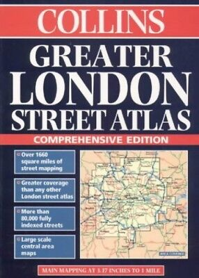 Collins Greater London Street Atlas (London... by Cottingham, Mike (ed Paperback