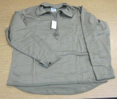 Nwt Polartec Gen Iii Level 2 Ecwc Mid Weight Grid Top Shirt Coyote Brown Small