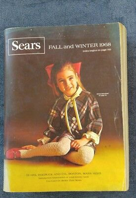 1968 Sears Roebuck Catalog   Fall and Winter Boston Edition