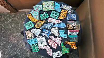 Great U.S. STATE REFRIGERATOR MAGNETS LOT of 28 + BONUS 4, FREE S/H, L@@K!!