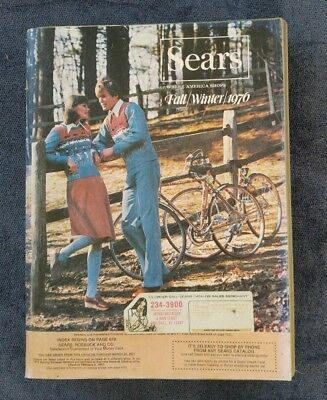 1976 Sears Roebuck Catalog   Fall and Winter Edition