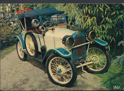 Road Transport Postcard - Vintage Car - Quadrilette Peugeot 1914 - T959