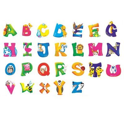Removable Abc Educational Alphabet Wall Decals Kids Room