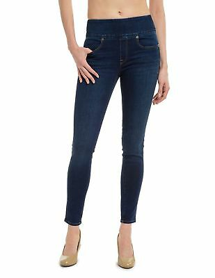 Spanx FD8015 Signature Waist Skinny Jeans Size 29 in Blue
