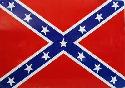Southern Flag Metal Sign