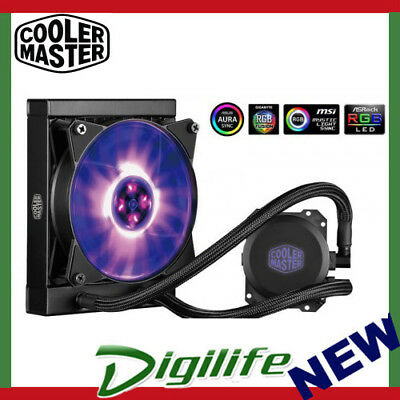 Cooler Master MasterLiquid ML120L RGB CPU Cooler RGB via controller or MB sync