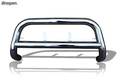 To Fit 2012-2016 Isuzu D-Max Front Bull Bar Nudge A Bar - EU EC APPROVED