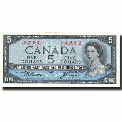 [#571968] Banknote, Canada, 5 Dollars, 1954, 1954, KM:77a, UNC(63)
