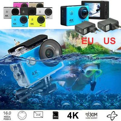 Waterproof 30FPS Ultra 1080P HD 4K WIFI Wireless Action Camcorder Sports Camera
