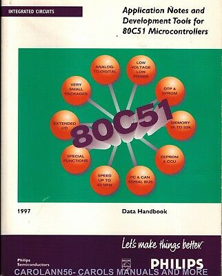 PHILIPS Data Book 1997 Application Notes & Development Tools 80C51 Microcontroll
