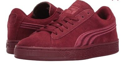 brand new 62bf9 03638 PUMA SUEDE CLASSIC Badge Cabernet Sneaker Men Size 11.5 New In Box NWT
