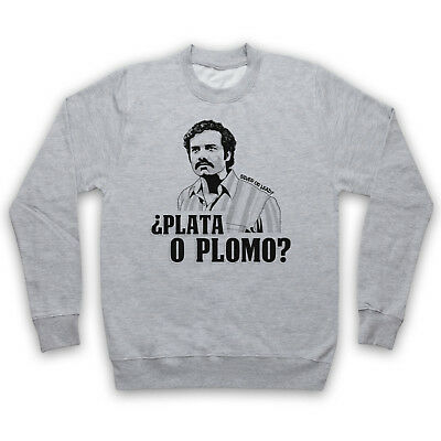 Narcos Pablo Escobar Plata O Plomo Silver Or Lead Tv Adults & Kids Sweatshirt