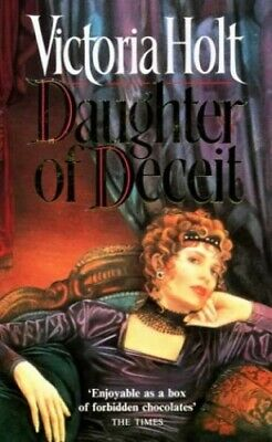 Daughter of Deceit by Holt, Victoria Paperback Book The Cheap Fast Free Post